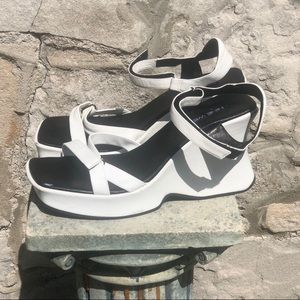 Vintage Nine West platforms, size 9.5